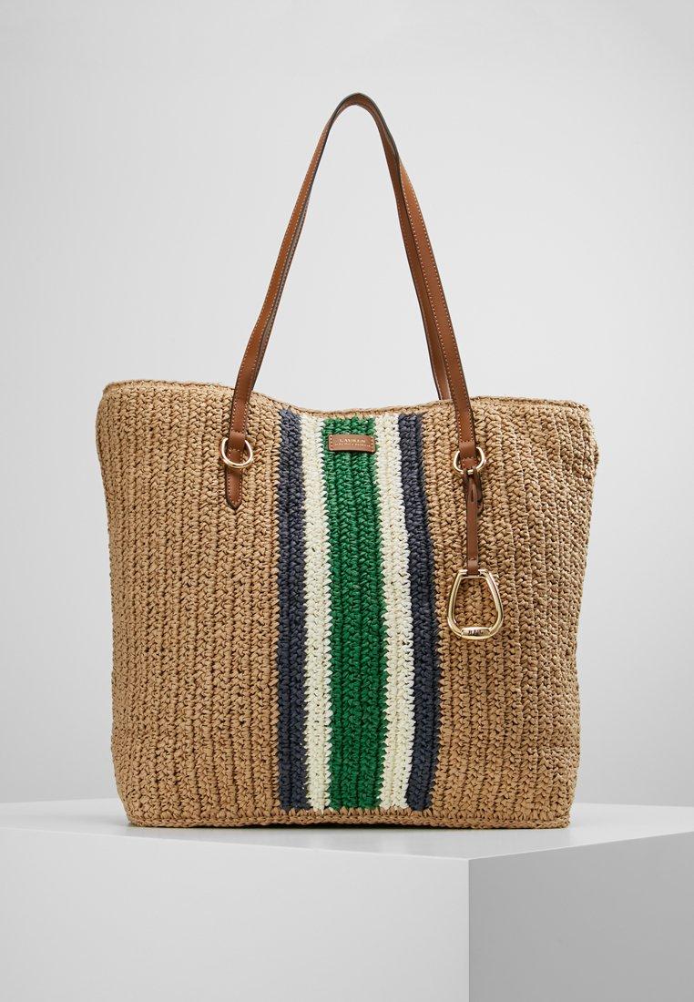 Lauren Ralph Lauren - TOLTON TOTE - Tote bag - natural