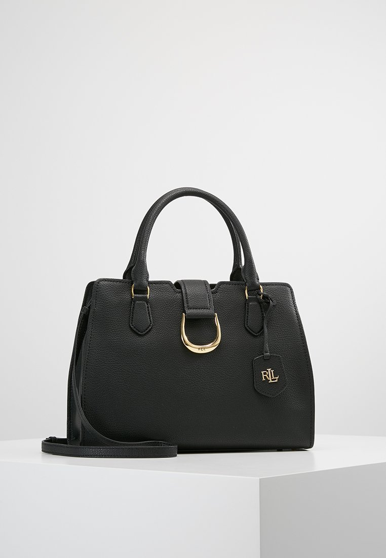 Lauren Ralph Lauren - KENTON SATCHEL CITY MEDIUM - Handtas - black