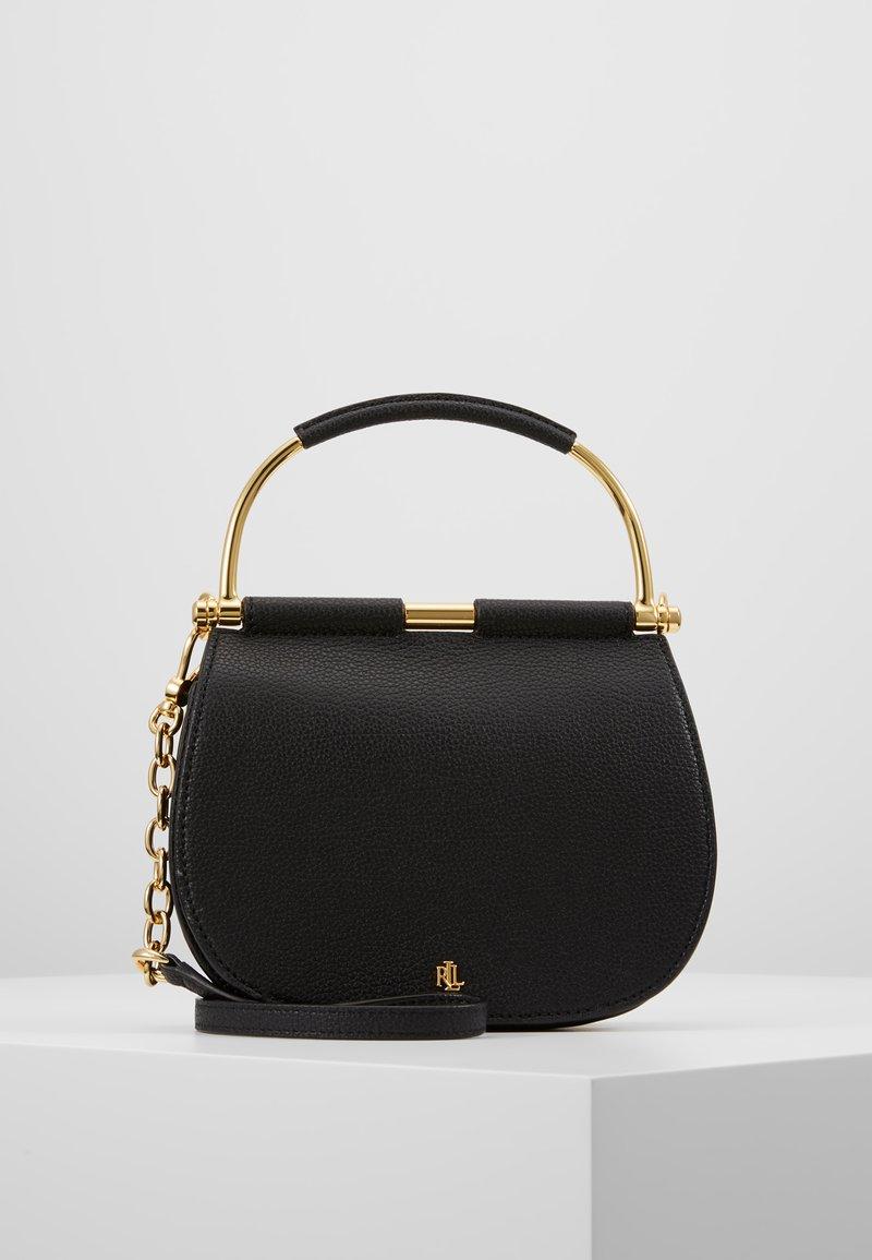 Lauren Ralph Lauren - CLASSIC PEBBLE MASON - Handbag - black