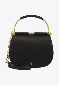 Lauren Ralph Lauren - CLASSIC PEBBLE MASON - Handbag - black - 5
