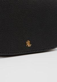 Lauren Ralph Lauren - CLASSIC PEBBLE MASON - Handbag - black - 6