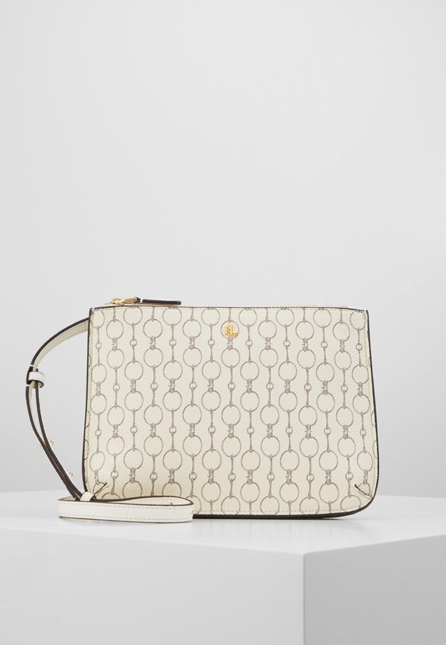 CARTER CROSSBODY MEDIUM - Axelremsväska - vanilla chai
