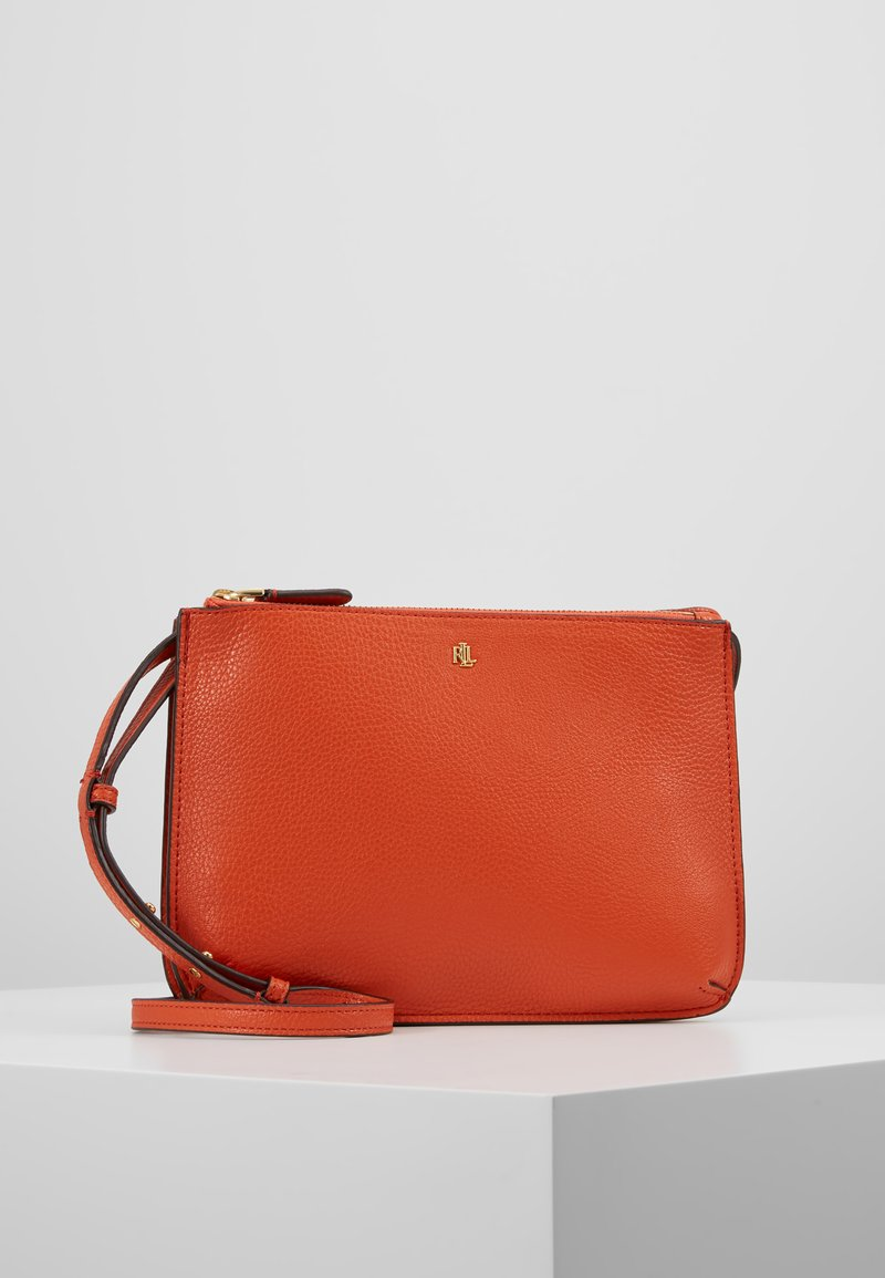 Lauren Ralph Lauren - CARTER  - Across body bag - pumpkin