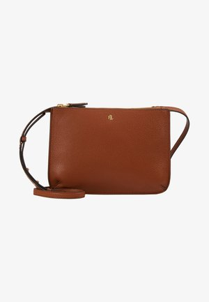 CARTER CROSSBODY MEDIUM - Olkalaukku - lauren tan