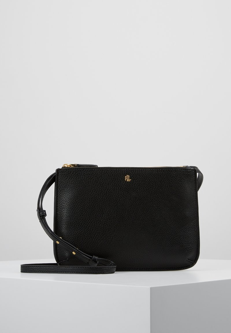 Lauren Ralph Lauren - PEBBLE GRAIN CARTER - Borsa a tracolla - black