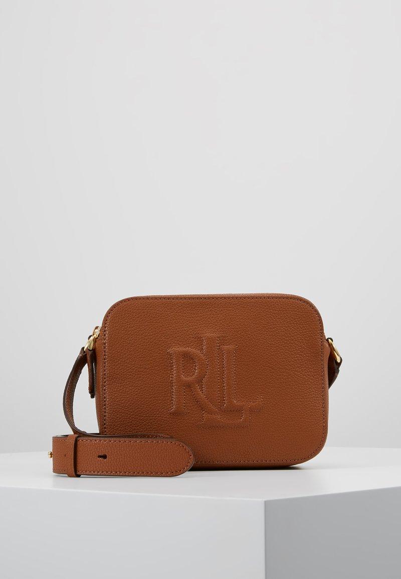 Lauren Ralph Lauren - CLASSIC HAYES - Across body bag - lauren tan