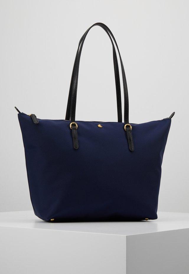 KEATON - Handbag - navy
