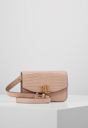 MINI CROC EMBOSS MADISON  - Bum bag - mellow pink