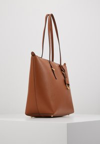 Lauren Ralph Lauren - PEBBLE GRAIN KEATON - Kabelka - lauren tan - 4