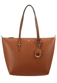 Lauren Ralph Lauren - PEBBLE GRAIN KEATON - Kabelka - lauren tan - 6