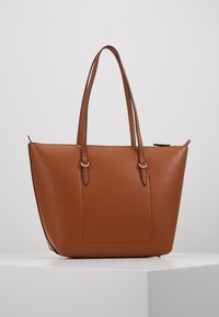 Lauren Ralph Lauren - PEBBLE GRAIN KEATON - Kabelka - lauren tan