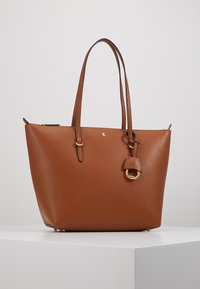 Lauren Ralph Lauren - PEBBLE GRAIN KEATON - Torebka - lauren tan - 0