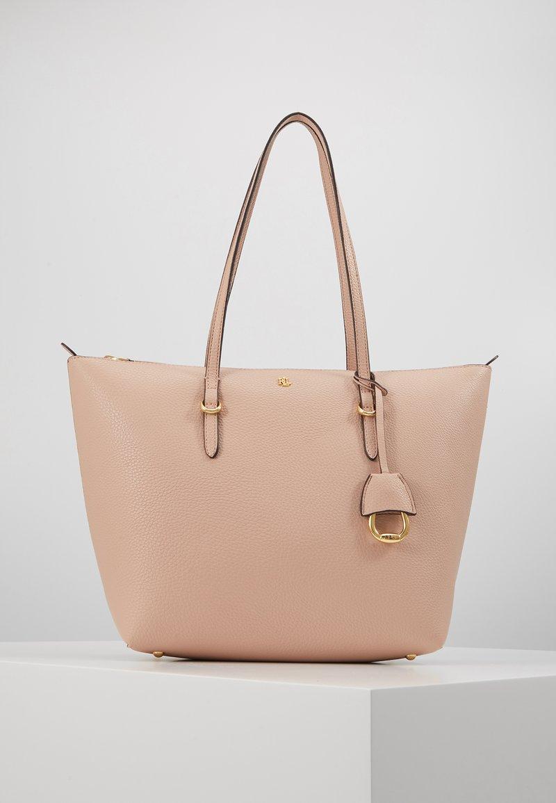 Lauren Ralph Lauren - PEBBLE GRAIN KEATON - Sac à main - mellow pink