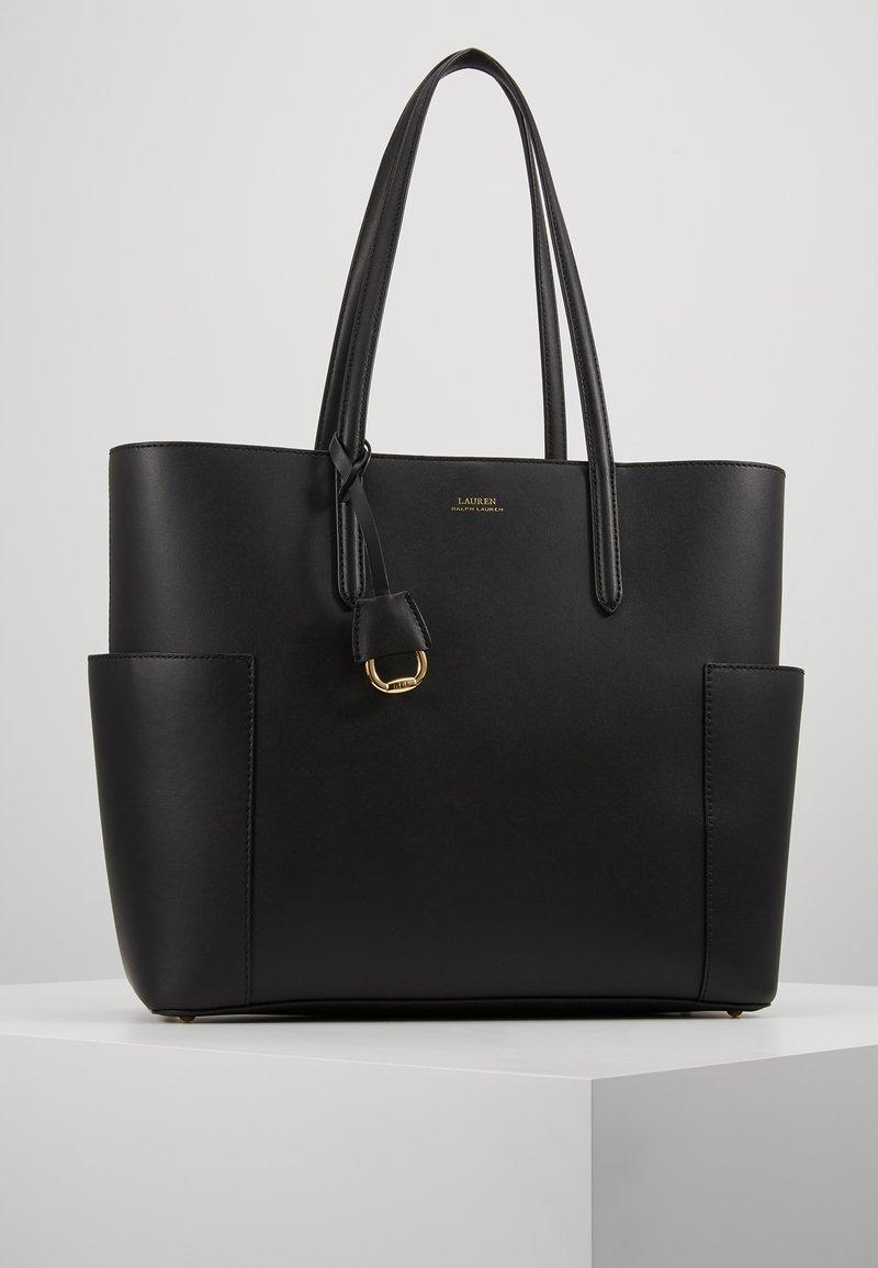 Lauren Ralph Lauren - SUPER SMOOTH CARLYLE  - Tote bag - black
