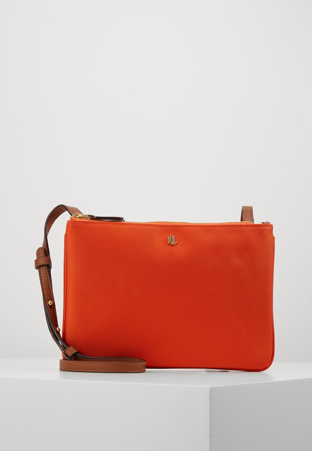 CARTER CROSSBODY MEDIUM - Across body bag - sailing orange