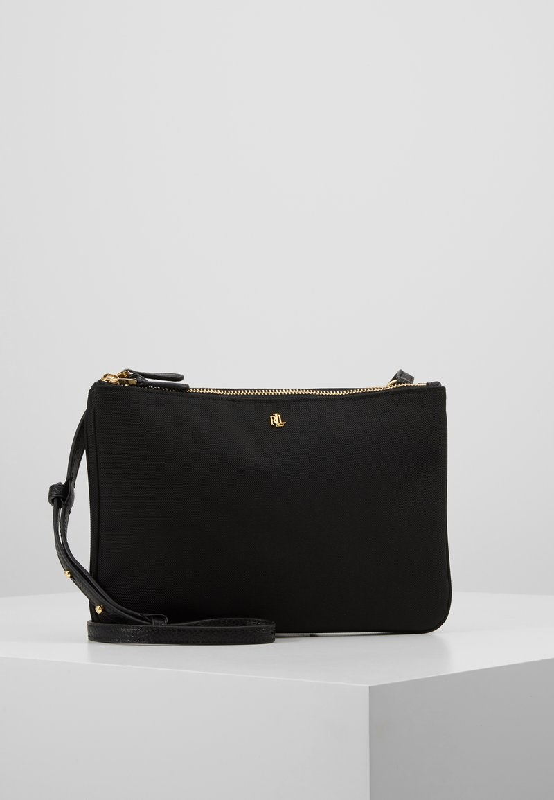 Lauren Ralph Lauren - CARTER CROSSBODY MEDIUM - Axelremsväska - black