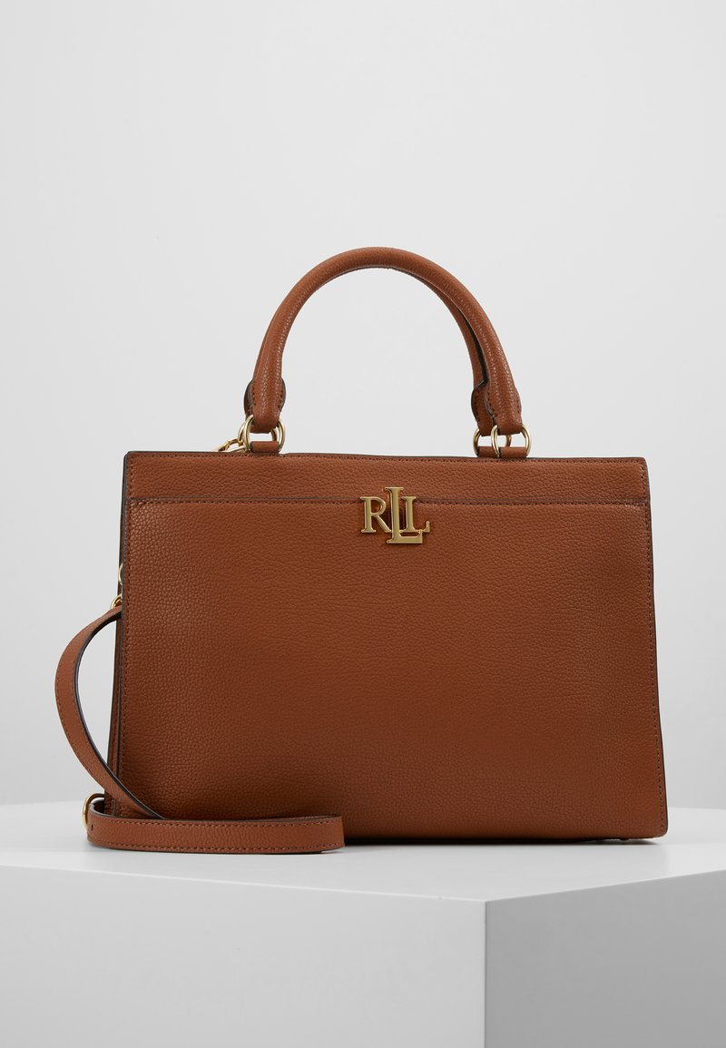 Lauren Ralph Lauren - CLASSIC PEBBLE - Sac à main - lauren tan