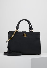 Lauren Ralph Lauren - CLASSIC PEBBLE - Bolso de mano - black - 0