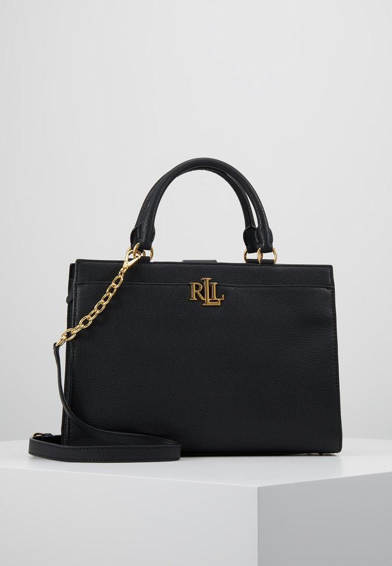 Lauren Ralph Lauren - CLASSIC PEBBLE - Handtasche - black