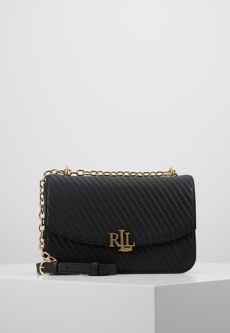 Lauren Ralph Lauren - QUILTED CAVIAR-MADISON - Across body bag - black