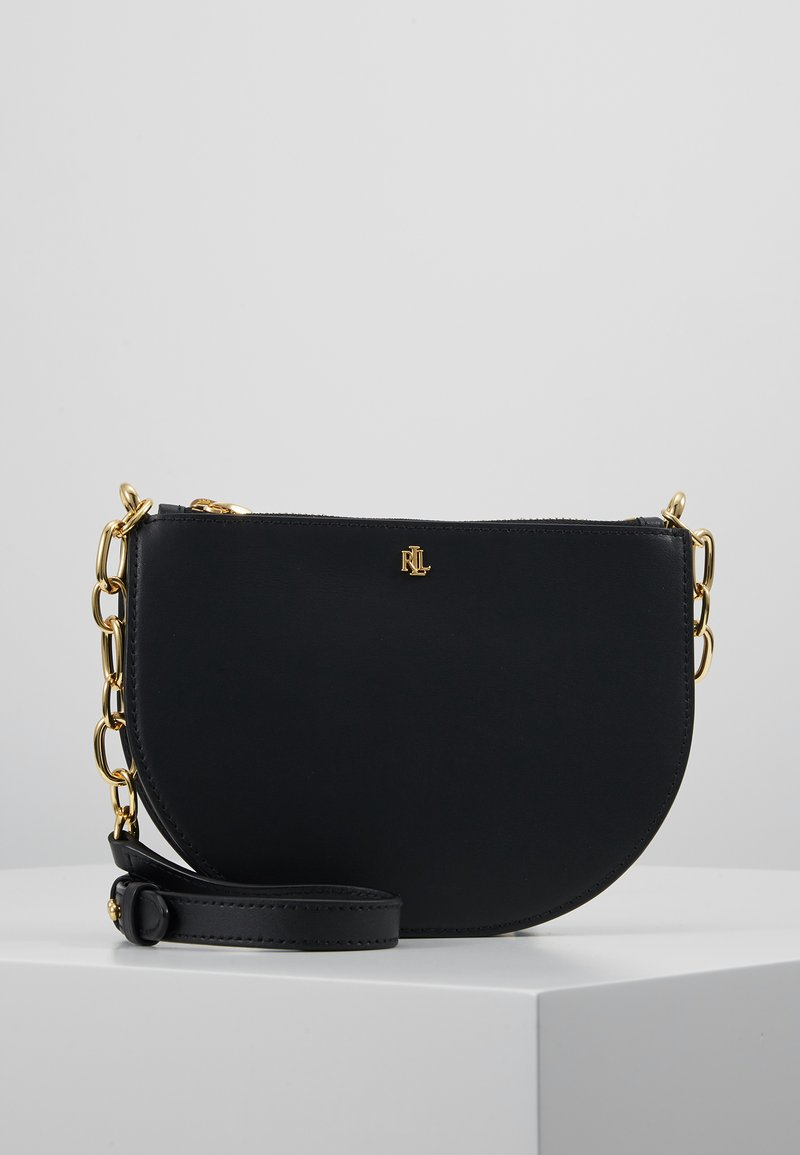 Lauren Ralph Lauren - SUPER SMOOTH SUTTON - Torba na ramię - black