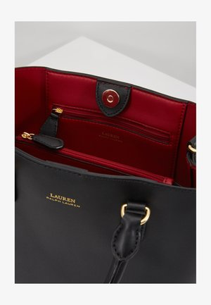 SUPER SMOOTH MARCY - Sac bandoulière - black/crimson