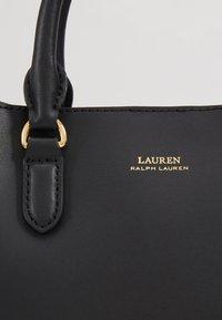 Lauren Ralph Lauren - SUPER SMOOTH MARCY - Umhängetasche - black/crimson - 3