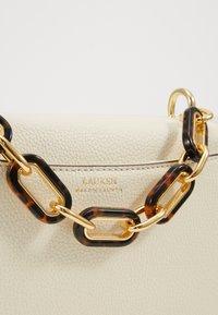 Lauren Ralph Lauren - CLASSIC PEBBLE MADISON - Across body bag - vanilla - 5