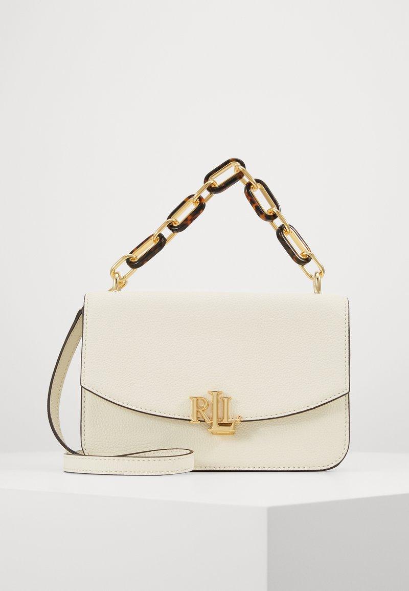 Lauren Ralph Lauren - CLASSIC PEBBLE MADISON - Across body bag - vanilla