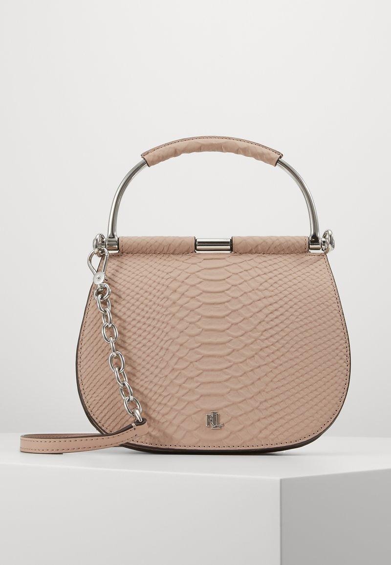 Lauren Ralph Lauren - MATTE PYTHON MASON  - Handbag - mellow pink
