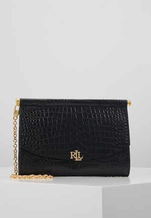 MINI CROC EMBOSS PRESCOTT - Clutch - black