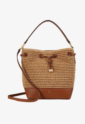 CROCHET DEBBY - Handbag - natural