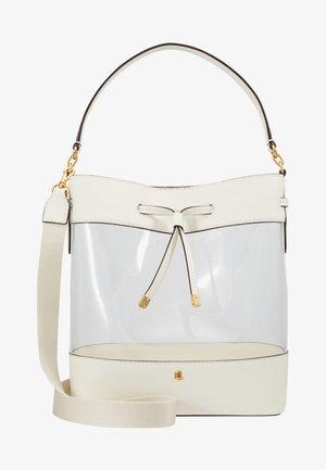 CLEAR-DEBBY-DRW-MED - Handbag - clear/vanilla