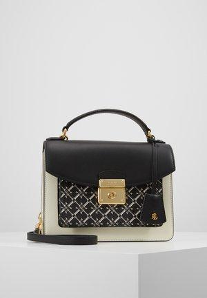 SMOOTH SAFF LOGO-BECKETT - Handbag - black/vanilla