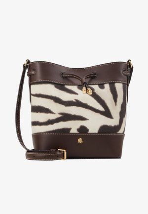 PRINTED DEBBY - Across body bag - zebra