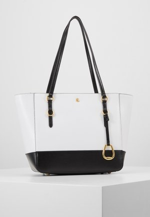 SAFFIANO - Borsa a mano - optic white/black