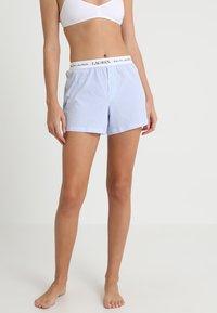 Lauren Ralph Lauren - SEPARATE - Spodnie od piżamy - pale blue - 0
