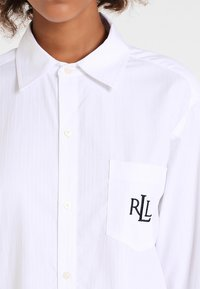 Lauren Ralph Lauren - HERITAGE ESSENTIALS CLASSIC HIS SLEEPSHIRT  - Negligé - white - 3