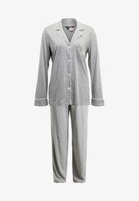 Lauren Ralph Lauren - HAMMOND CLASSIC NOTCH COLLAR  - Pyžamová sada - heather grey - 5