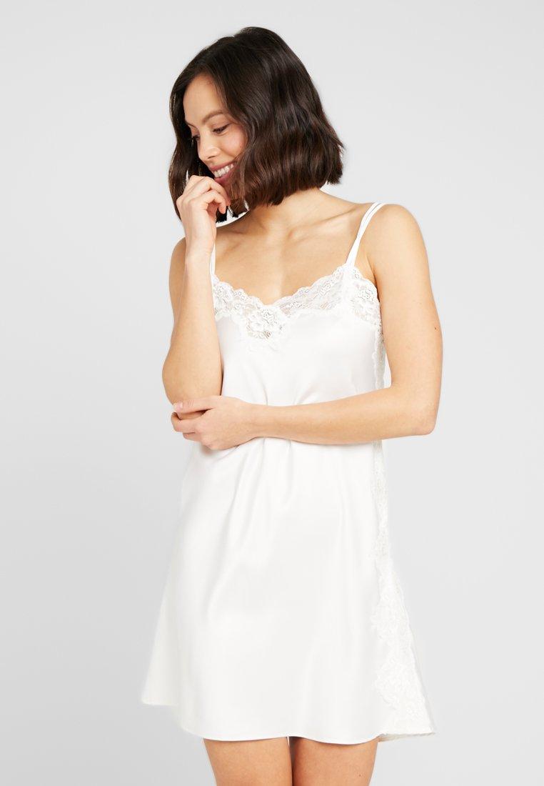 Lauren Ralph Lauren - CHEMISE - Noční košile - ivory