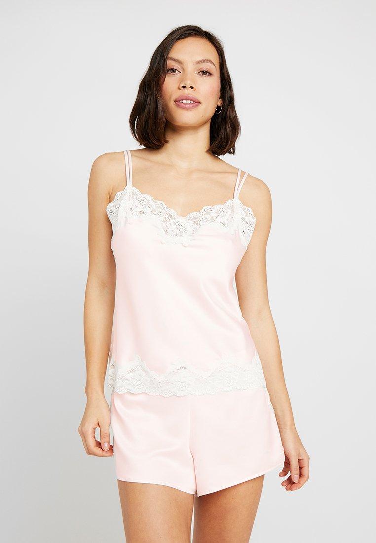 Lauren Ralph Lauren - CAMI TAP PANT SET - Pyžamová sada - pink