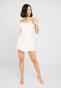Lauren Ralph Lauren - CAMI TAP PANT SET - Pyžamová sada - pink - 1