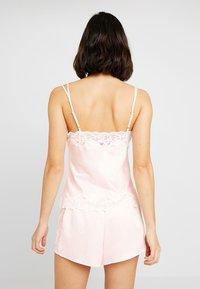 Lauren Ralph Lauren - CAMI TAP PANT SET - Pyžamová sada - pink - 2