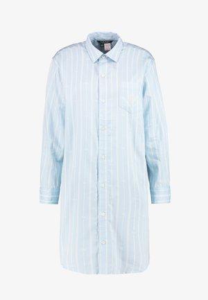 CLASSIC HIS SHIRT SLEEPSHIRT - Koszula nocna - blue