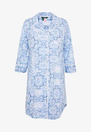 CLASSIC NOTCH COLLAR SLEEPSHIRT - Koszula nocna - blue