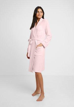BRUSHED ROBES SHAWL COLLAR ROBE - Peignoir - pink