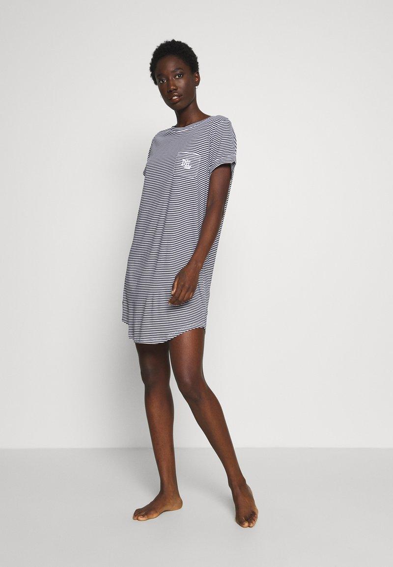 Lauren Ralph Lauren - SCOOP SLEEPTEE - Noční košile - navy