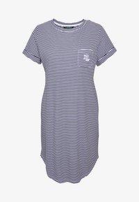 Lauren Ralph Lauren - SCOOP SLEEPTEE - Noční košile - navy - 3