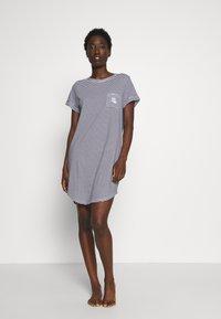 Lauren Ralph Lauren - SCOOP SLEEPTEE - Noční košile - navy - 1