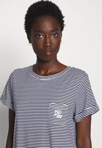 Lauren Ralph Lauren - SCOOP SLEEPTEE - Noční košile - navy - 4